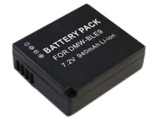 Battery for Panasonic Lumix DMW-BLE9 DMC-GF3 DMC-GF5 DMC-GF6 DMC-GX7