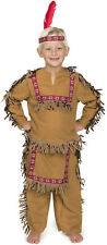 Native American Indian Boy Costume with Feather headband