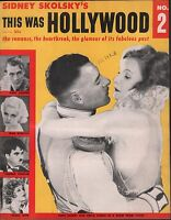 This Was Hollywood No.2 1955 John Gilbert, Greta Garbo, Gary Cooper EX 122215DBE