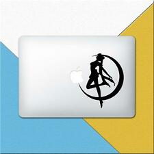Sailor Moon MacBook Decal Anime Laptop Sticker Silhouette Shadow Vinyl m1112