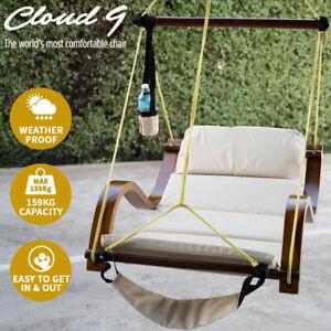 CLEARANCE - Comfortable Hanging Chair Indoor Outdoor Garden Patio Veranda Beams