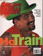 WWF Raw Magazine July 1999 Charles Wright EX 121115DBE