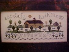 Brightneedle Charted Designs Counted Cross Stitch Graph Covered Bridge Sampler