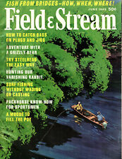 Fishing & Hunting Field & Stream Magazine June 1969 Great Articles Photos Ads