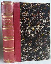 Tobias Smollett, The expedition of Humphry Clinker. 1831. Illustrat. Cruishank