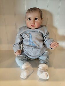 NPK Lifelike Reborn Baby Boy Doll Real Looking GORGEOUS