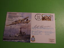 BOMBER SERIES RAF B23 COVER SIGNED BILL EDRICH PILOT AND ENGLAND TEST CRICKETER