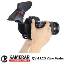 "Kamerar Viewfinder QV-1 2.5x Fit Foldable LCD View Finder for 3'' 3.2"" Cameras"