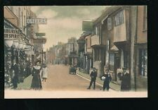 Somerset YEOVIL Middle St Olivers & George Hotel street scene pre1919 PPC