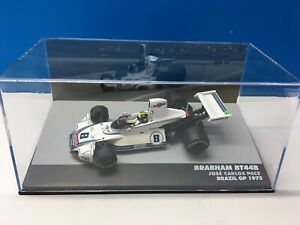 Brabham BT44B 1975 #8 Brazil GP Jose Carlos Pace Altaya Martini Racing 1:43 F1