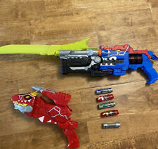 Power Rangers Deluxe Dino Chargers, Blasters, and Sword