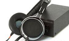 Stax SR 40 und SRD-4 Electret Headphones Kopfhörer Earspeaker Audio Dj Equipment