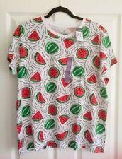 Ladies Women's Girls Primark Watermelon Tee Top T-Shirt Size XL 18-20 Blouse New