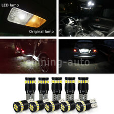 10x canbus T10 194 168 interior License Plate Light Bulb White LED for car Truck