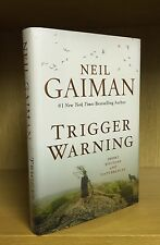 Trigger Warning - Neil Gaiman **Flat Signed To Title Page** US 1st/1st