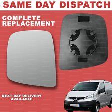 For Nissan NV200 2010-2020 wing mirror glass left passenger