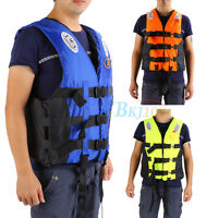 Universal Adult Life Jacket Drifting Swimming Boating Ski Preservers Vest S-XXL