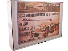1:35 35033 Slf auf Sd.Kfz.251 7,5cm KWK 42  Conversion Resin Kit Custom-Scale