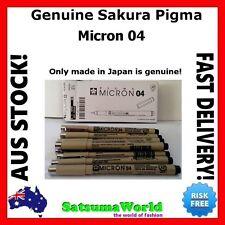 Genuine Sakura Pigma Micron 04 BLACK professional pen for calligraphy permanent