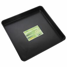 More details for garland square garden tray plant pot watering spill growbag seed black plastic