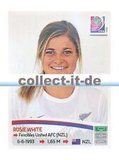 Panini Frauen WM World Cup 2015  - Sticker 78 - Rosie White