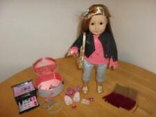 American Girl Isabelle Doll Extension Dance Case Accessories Set Jewelry Box LOT
