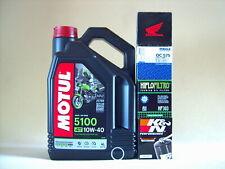 Motul 5100 10W40 Olio + Filtro Olio Honda VFR750F RC24 RC30 RC36, Bj 1988-1997