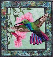 Hummingbird Bird Flower Toni Whitney Designs Fusible Applique Quilt Pattern