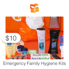 $10 Charitable Donation For: Emergency Family Hygiene Kits