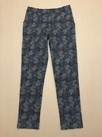 GORMAN PANTS WOMENS ~ SIZE 8 ~ GREAT COND W/ GEOMETRIC PRINTED DESIGN TROUSERS
