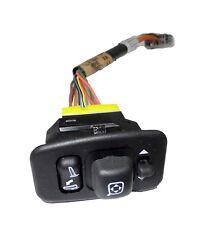 New Oem Power Fold Driver Side Mirror Switch w/ Wire Harness Ford Yl7Z-17B676-Aa