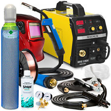 Welder Welding Machine Portable Inverter 200A Arc MIG TIG MMA Magnum MIG 190 SET