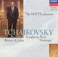 Tchaikovsky: Symphony No. 6, Pathetique, Romeo & Juliet -  - CD 1991-05-10