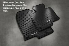 2017 2018 Mazda CX-5 All Weather Floor Mats (set of 4) 00008BR21