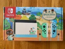 New Nintendo Switch HAC-001(-01) Animal Crossing: New Horizon Special Edition