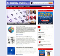 NUMEROLOGY UK AFFILIATE WEBSITE WITH STORE & BANNERS + FREE DOMAIN & HOSTING