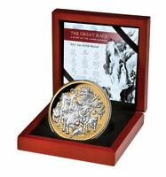 2021 GREAT LUNAR RACE $8 5oz Silver Proof Coin