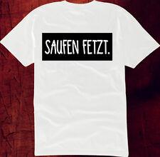 T Shirt Saufen Fetzt Funshirt Hipster Tattoo Fuck Fucking Hoody Keep Calm Tee