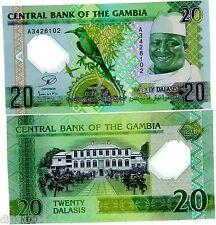 Gambie GAMBIA Billet 20 Dalasis 2014 ( 2015 ) COMMEMORATIVE POLYMER UNC NEUF