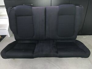 94-01 Honda / Acura Integra Rear Seat Set (Type-R Black Suede with Red Stitch)