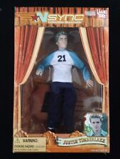 """New Justin Timberlake Doll Marionette N'Sync 2000 11"""" tall"""
