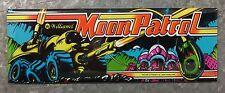 Moon Patrol Arcade Game Marquee Fridge Magnet