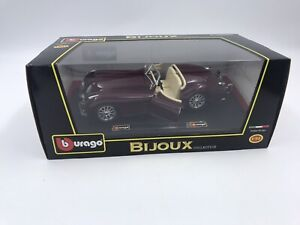 Jaguar XK 120 Roadster Cabrioket 1/24 Collection Bijoux Boite Neuve  BURAGO