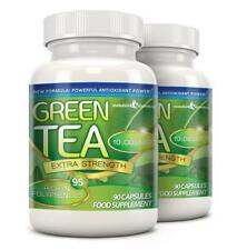 Green Tea Extra Strength 10000mg 95% Polyphenols 180 Capsules Evolution Slimming