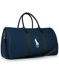BRAND NEW RALPH LAUREN PARFUMS POLO BLUE DUFFLE  / TRAVEL / HOLIDAY / SPORT BAG