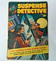 1952 SUSPENSE DETECTIVE #2 CRIME COMIC Rare