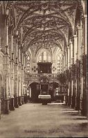 Frederiksborg Dänemark alte Postkarte ~1910 Slotskirke Inneres der Schloßkirche