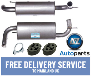 For Land Rover - Freelander 2.0 2000-2006 Rear Exhaust End Silencer +Fittings