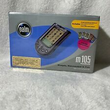 New in Sealed box Palm M 105 Handheld Classic Organizer Enter Data Easily Pda