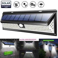 118 LED Solar Powered PIR Motion Sensor Wall lamp Human Body Infrared Light New